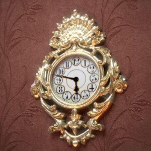 ساعت دیوارکوب ساتین